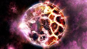 destrucción planeta